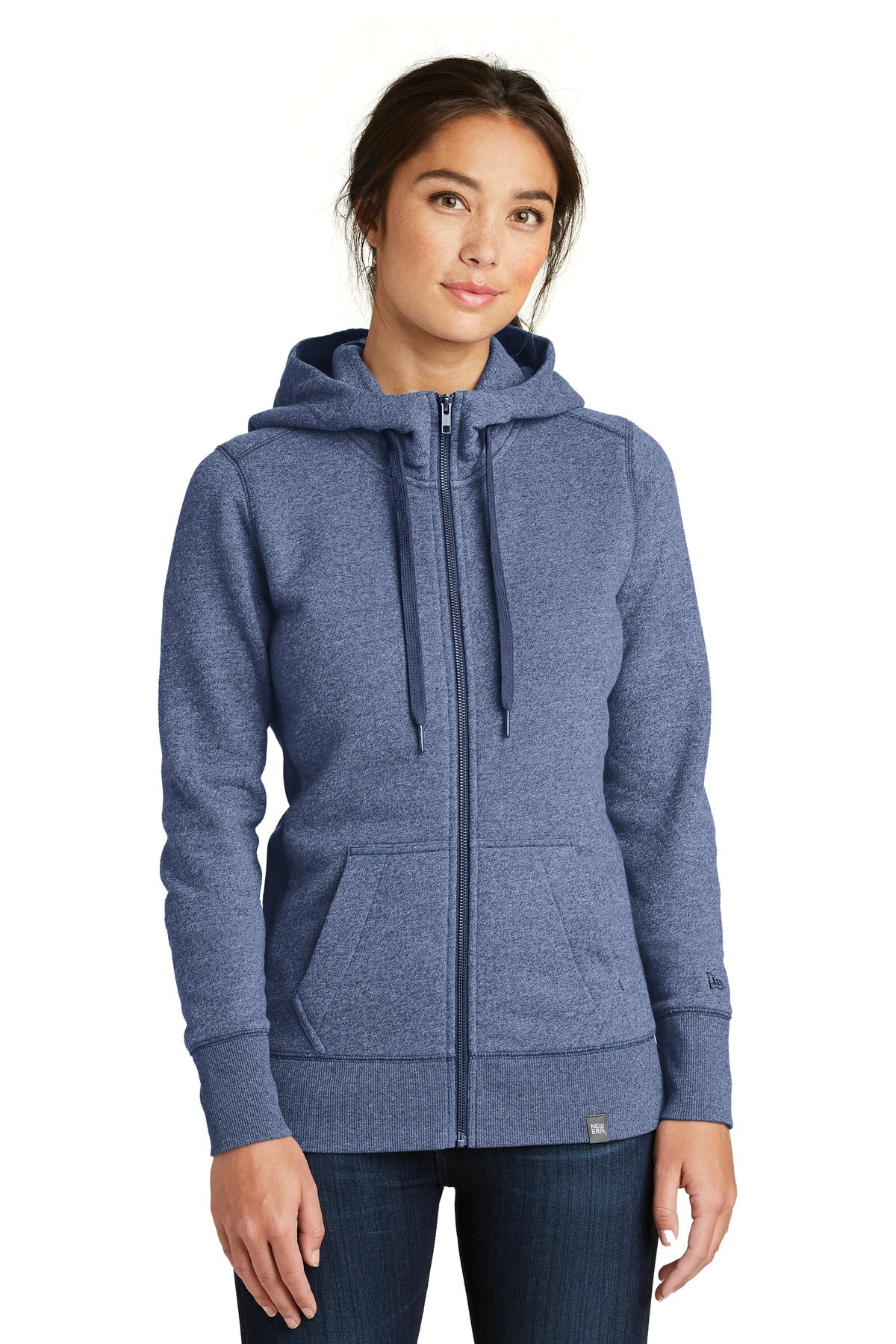 New Era ® Ladies French Terry Full-Zip Hoodie. LNEA502 - Aspire Zone