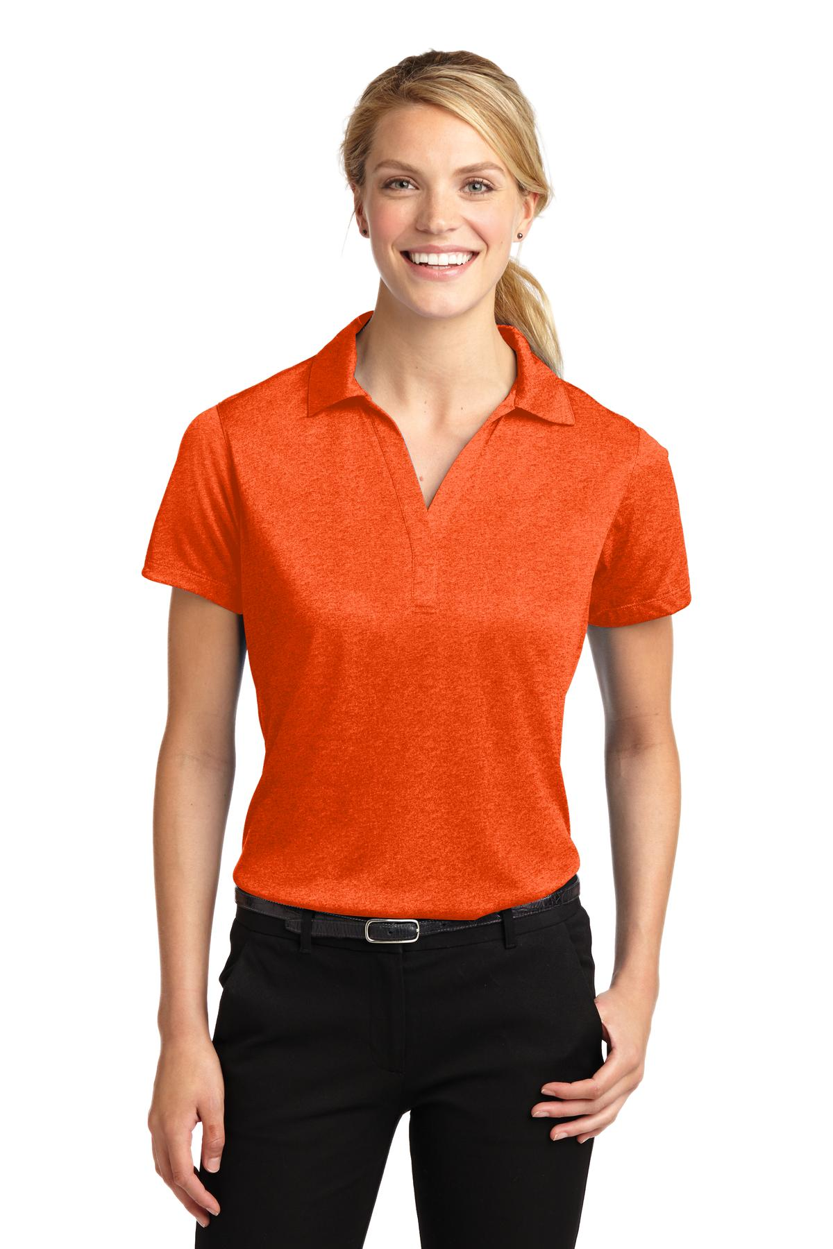 Sport-Tek® Ladies Heather Contender™ Polo. LST660