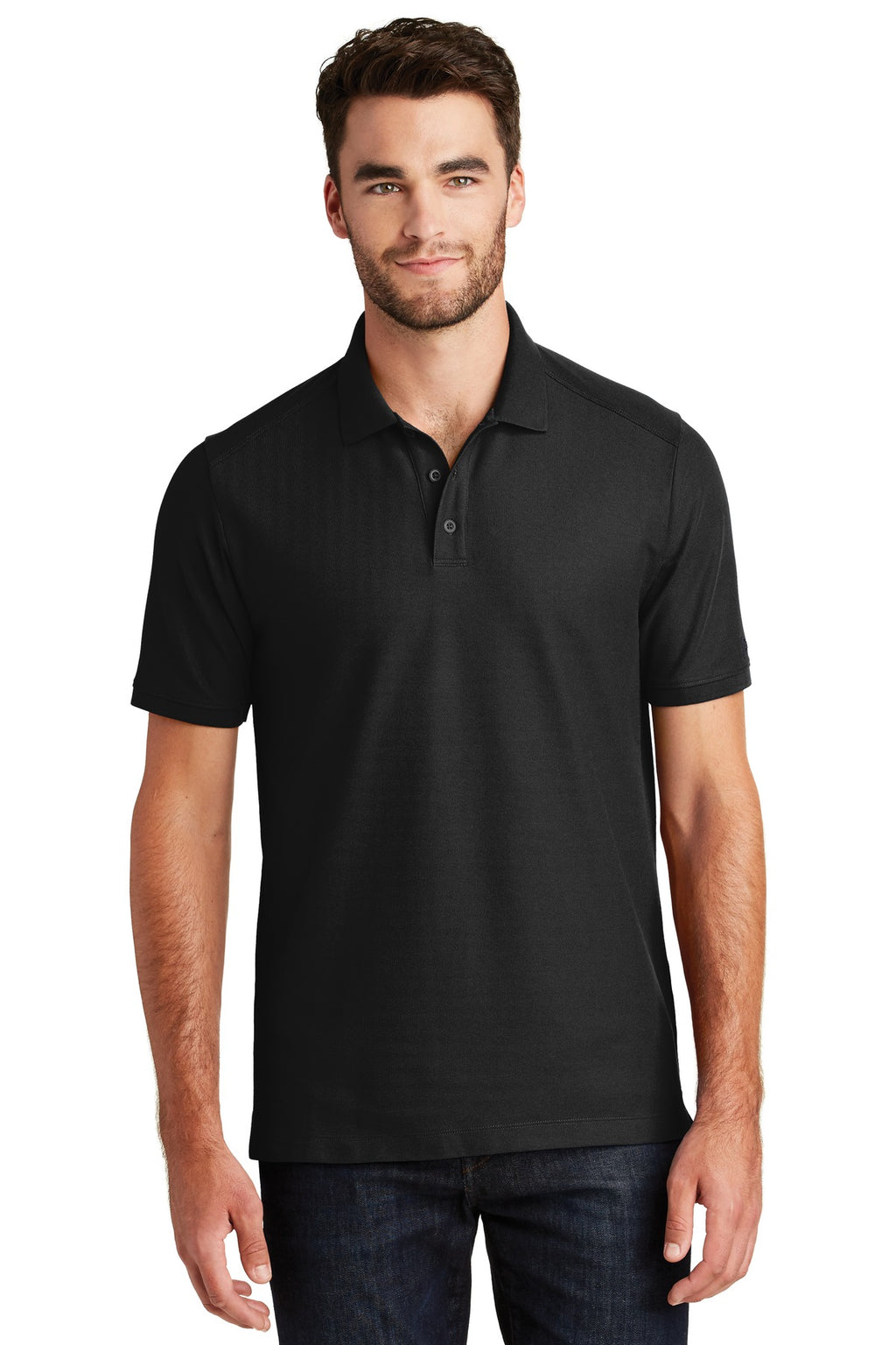 New Era ® Venue Home Plate Polo. NEA300