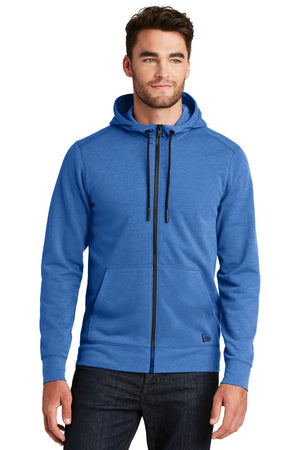 New Era ® Tri-Blend Fleece Full-Zip HoodieNEA511 - Aspire Zone
