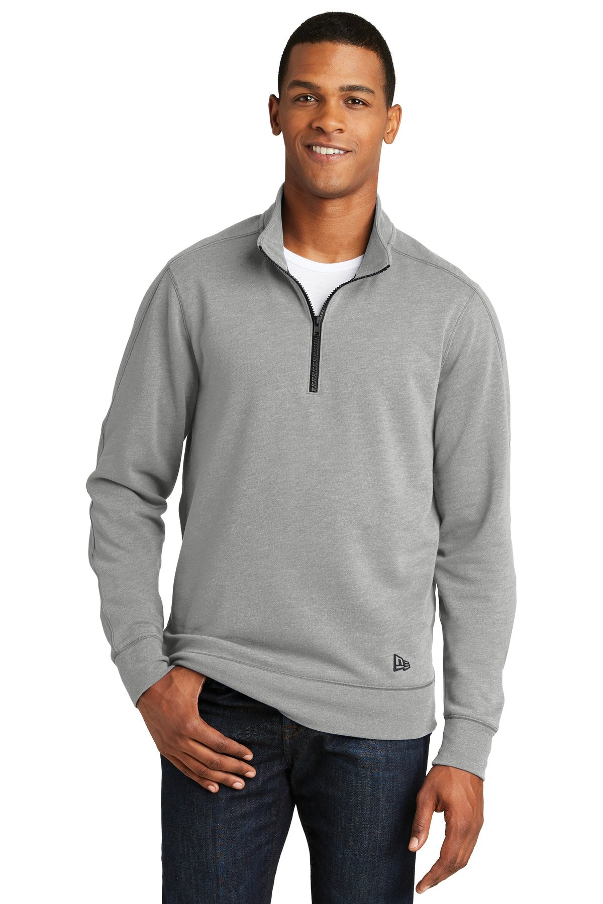 New Era ® Tri-Blend Fleece 1/4-Zip Pullover. NEA512 - Aspire Zone