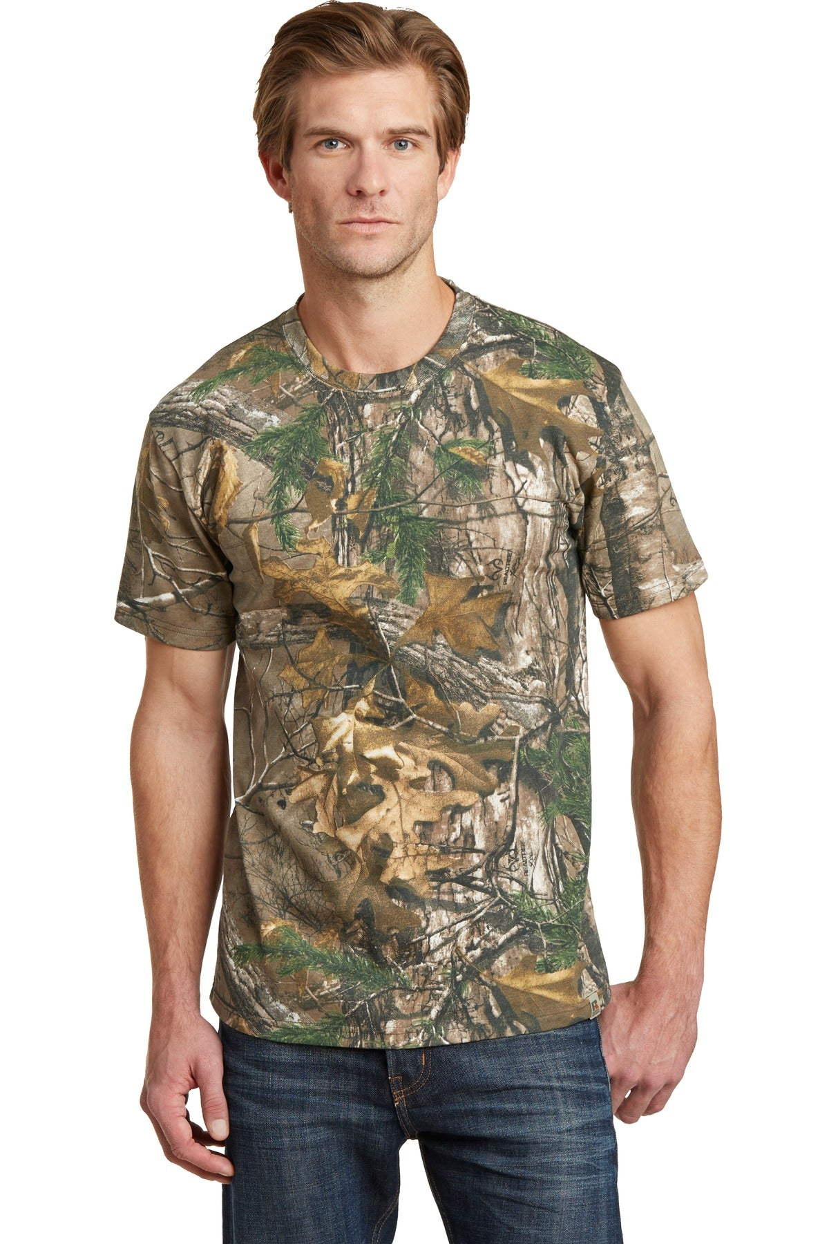 Russell Outdoors™ - Realtree® Explorer 100% Cotton T-Shirt. NP0021R