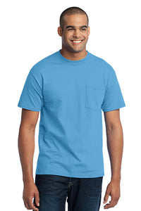 Port & Company® Tall Core Blend Pocket Tee. PC55PT