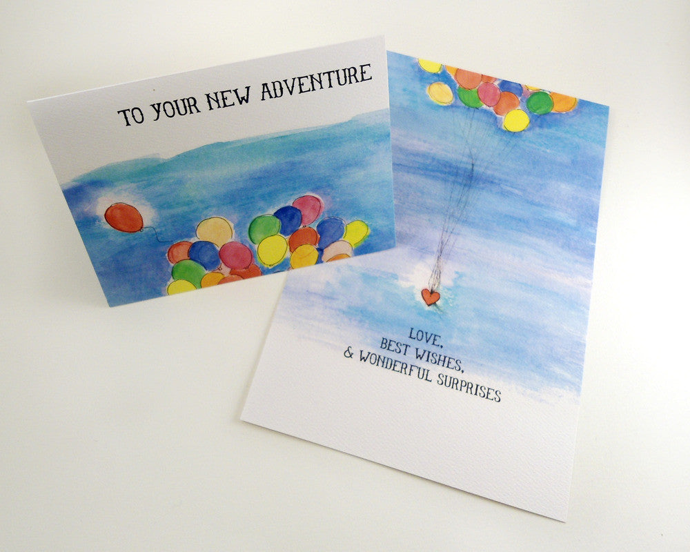 To Your New Adventure Card