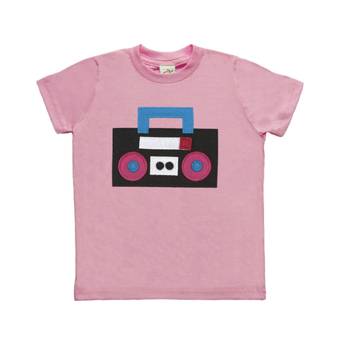 Boom Box Toddler Tee
