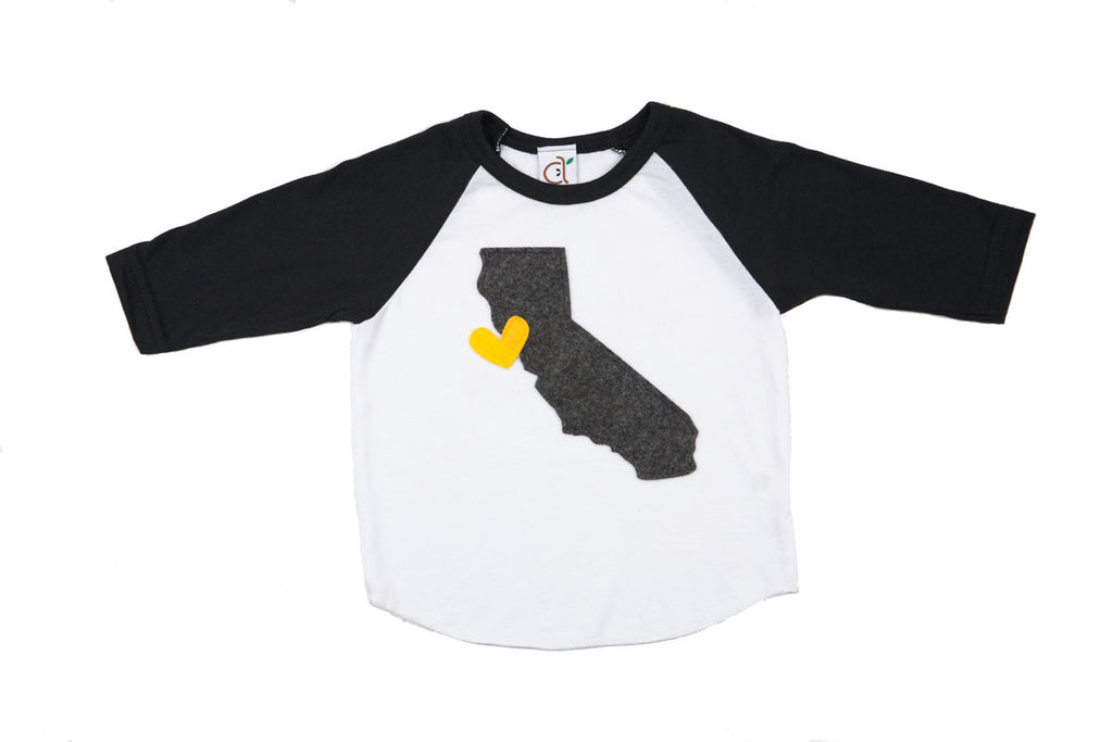 Cali Love Toddler Baseball Tee