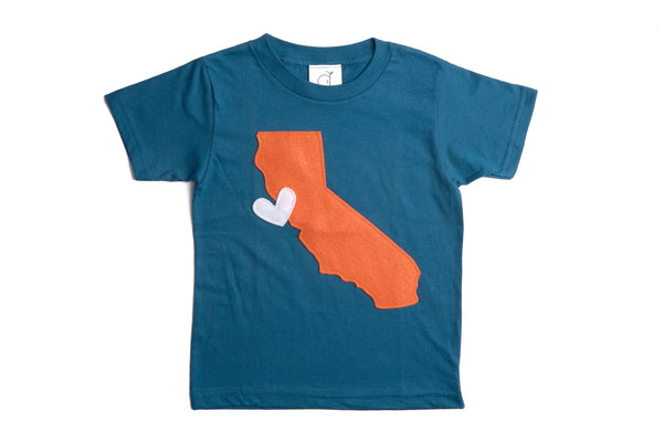 Organic Cali Love Toddler Tee