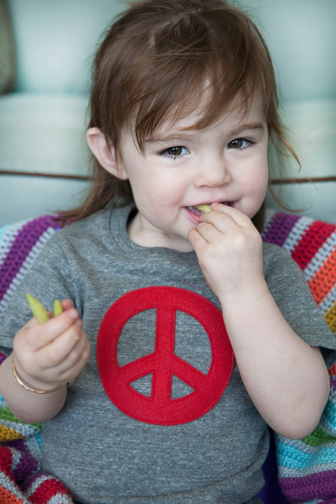 RPET/Organic Peace Toddler Tee