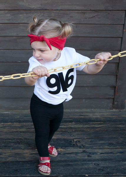 916 Area Code Toddler Tee