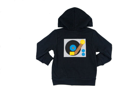 Turntable Infant Hoodie