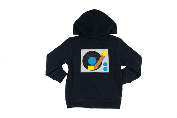 Turntable Toddler Hoodie