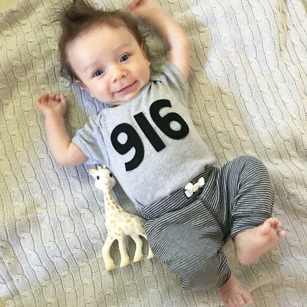 916 Area Code Bodysuit