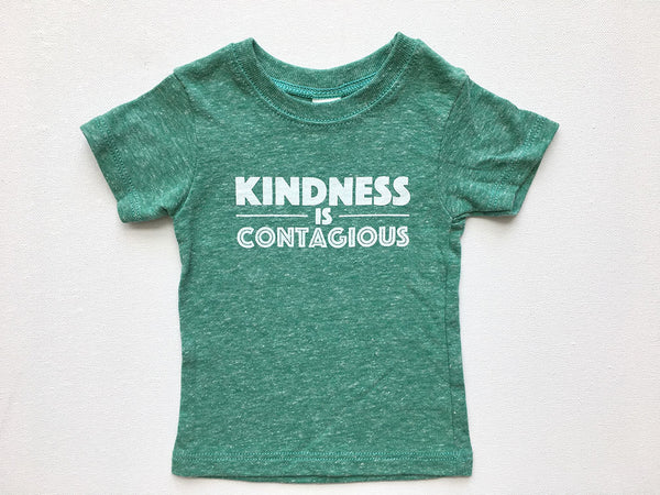 Kindness is Contagious Toddler Tee