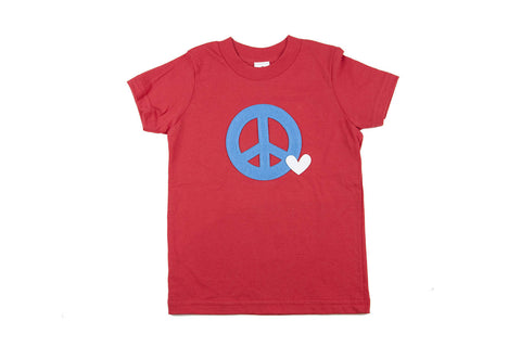 Peace and Love Toddler Tee