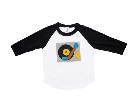 Turntable Infant Baseball Tee