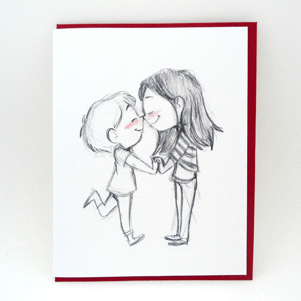 Eskimo Kiss Card