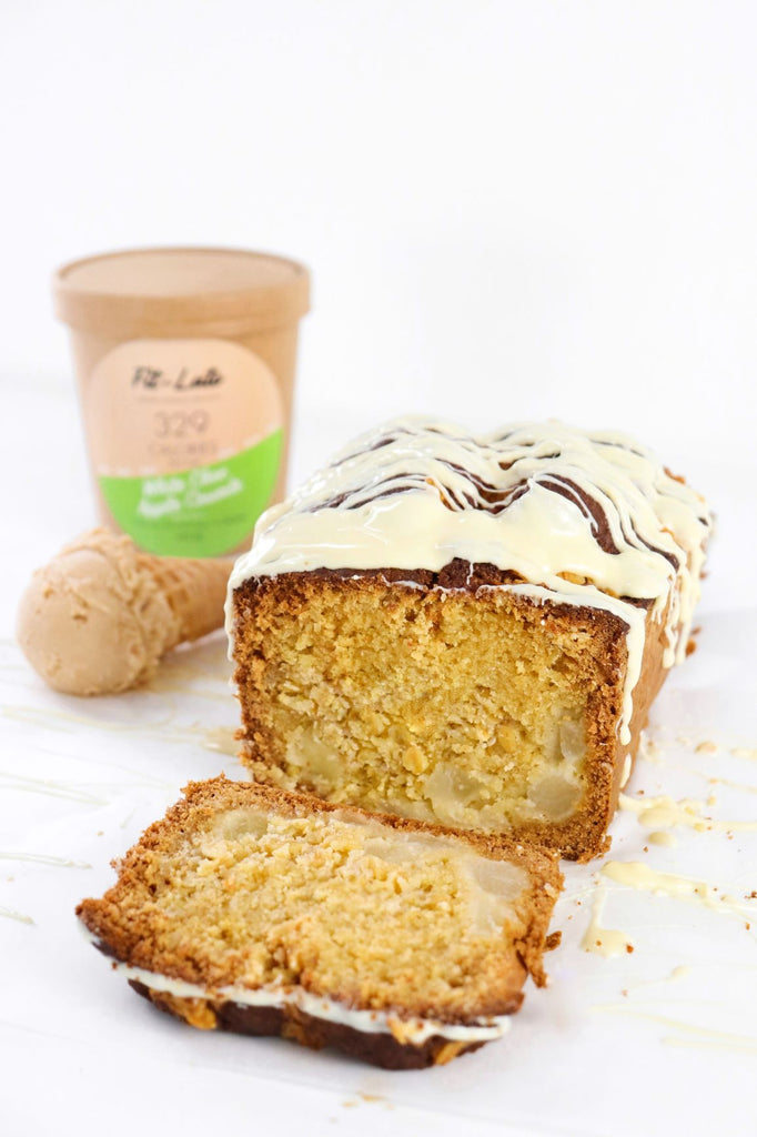 Apple White Choc Loaf