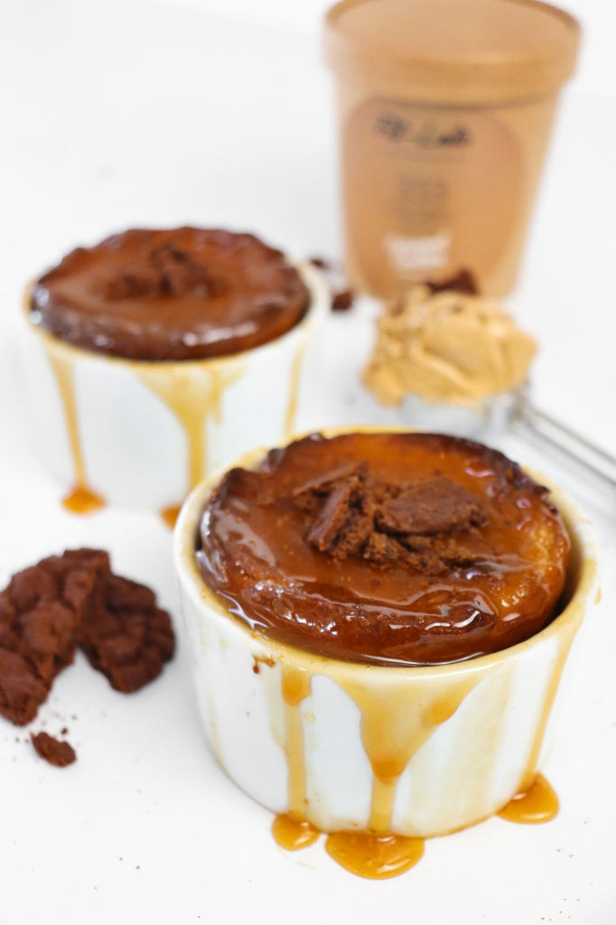 Caramel Cookies Self Saucing Pudding