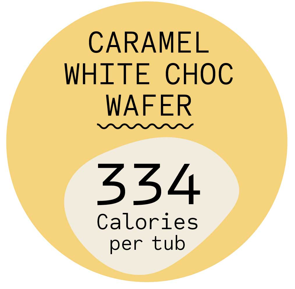 Caramel White Chocolate Wafer