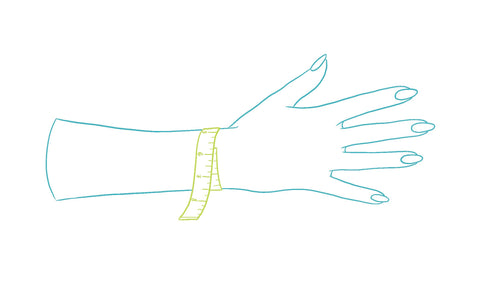 Bracelet Sizing: How to measure your wrist size