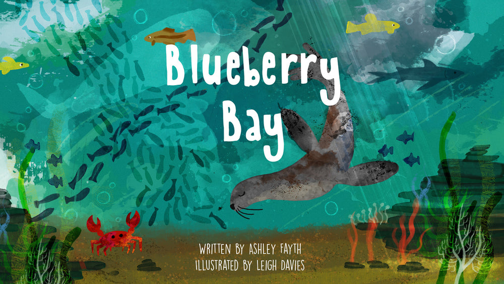 Blueberry Bay Children's Book & Free Audiobook