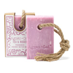 Soap on a Rope: Tea & Roses (Agnes & Cat)