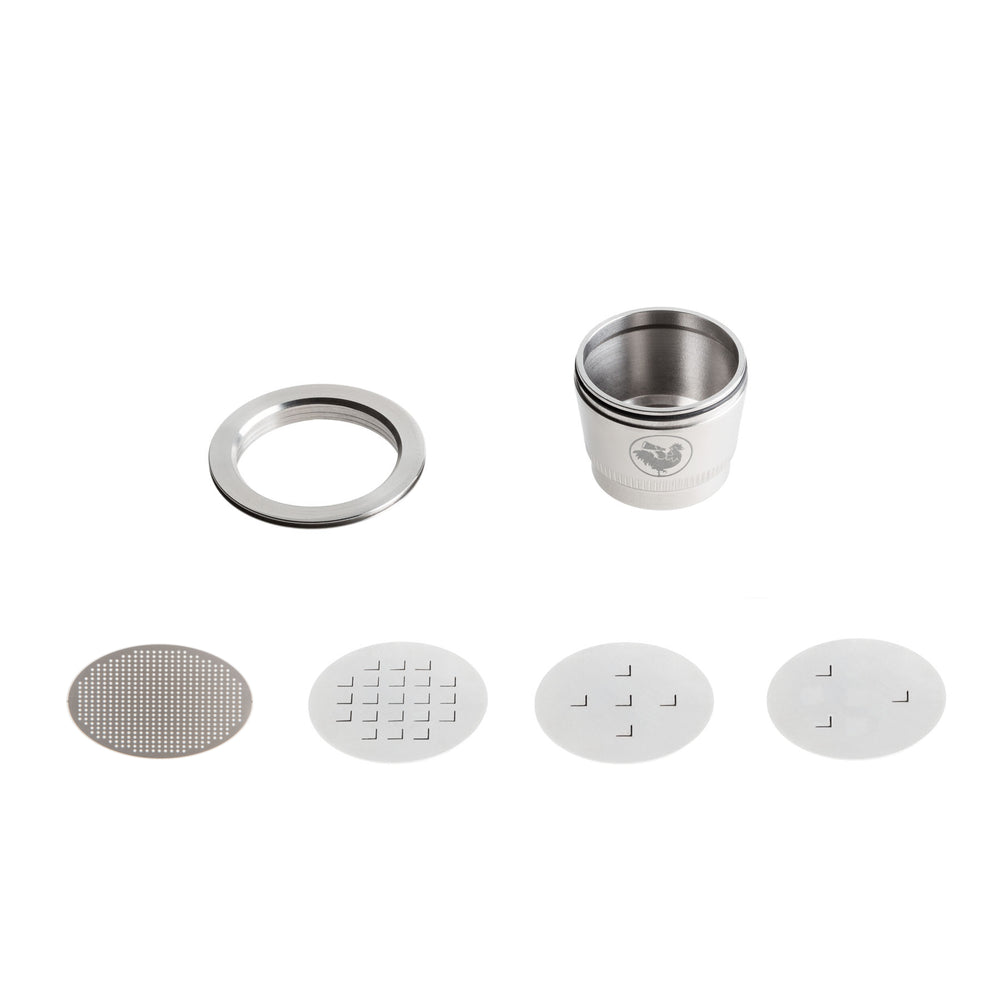Refillable Coffee Capsule - Nespresso (Full Kit)