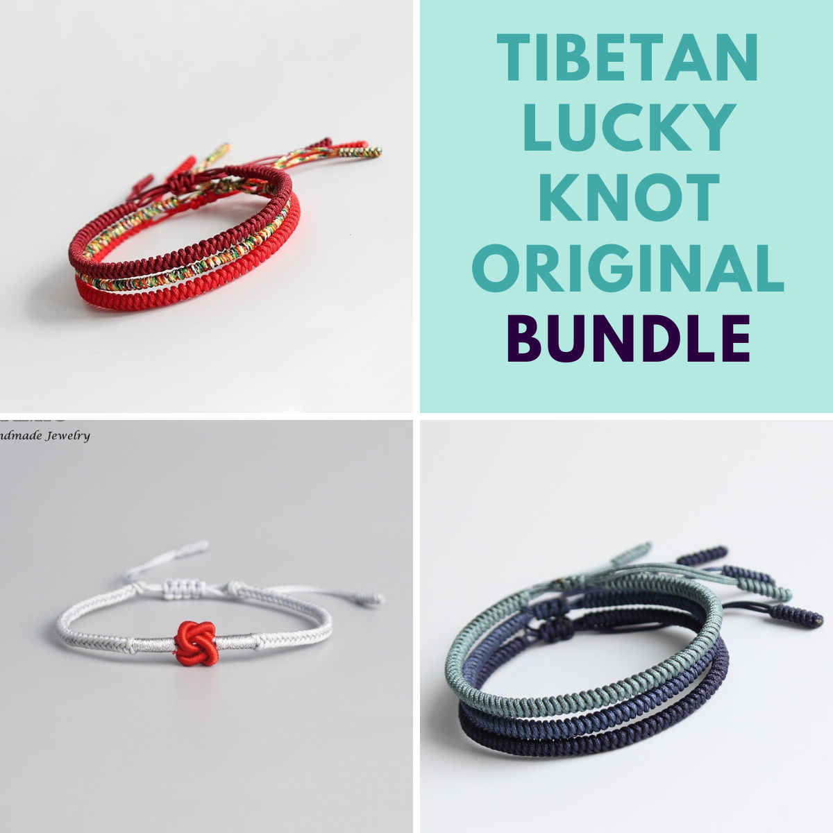Tibetan Lucky Knot Original Bundle