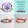Buddha Heart Lucky Knot Bundle