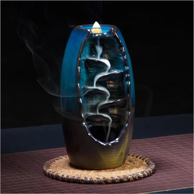 Mandalize It™ Waterfall Incense Holder - Free 10 Incense Cones