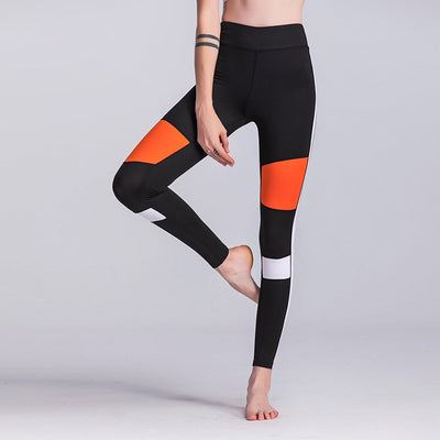 Block Yoga Leggings