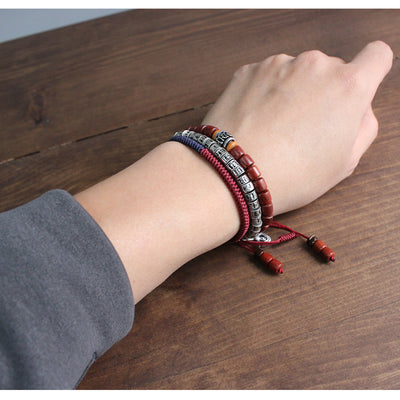 Traditional Tibetan Mantra Beads Rope