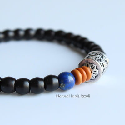Tibetan Prayer Wheel Lucky Charm Buddhist Bracelet