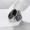 Jesus Cross Ring - 316L Stainless Steel