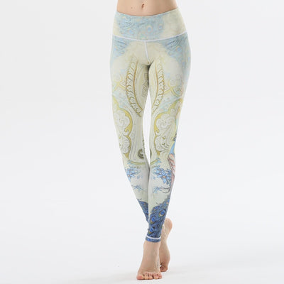 Legend Peacock Yoga Leegings