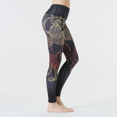 Legend Cock Yoga Leggings