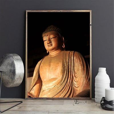 Buddha Gold Artwork Painting