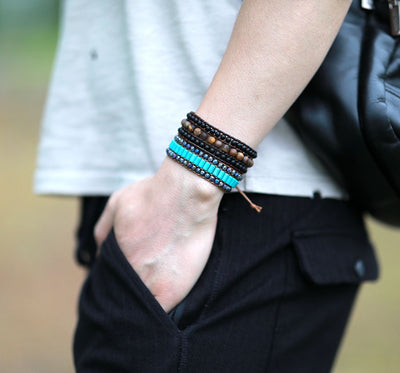 Blue for Truth Cuff Bracelet