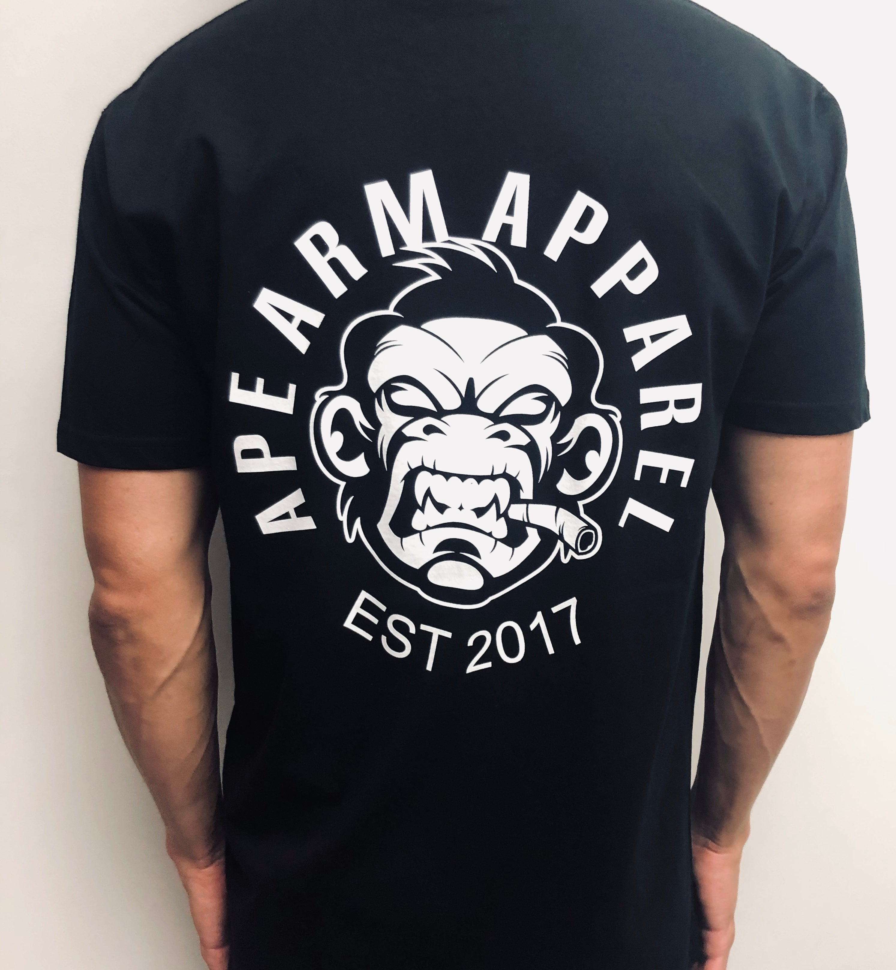White on black Classic Tee