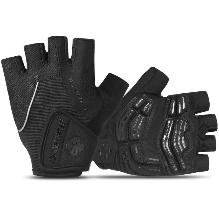 INBIKE Half Finger Sports Gloves Sale Black