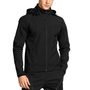 INBIKE Men Soft Shell Cycling Jacket Black