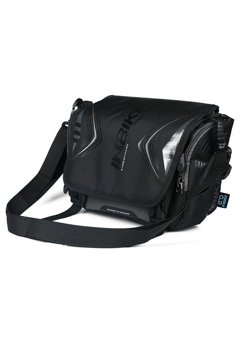 INBIKE Waterproof Bicycle Handlebar Bag Black