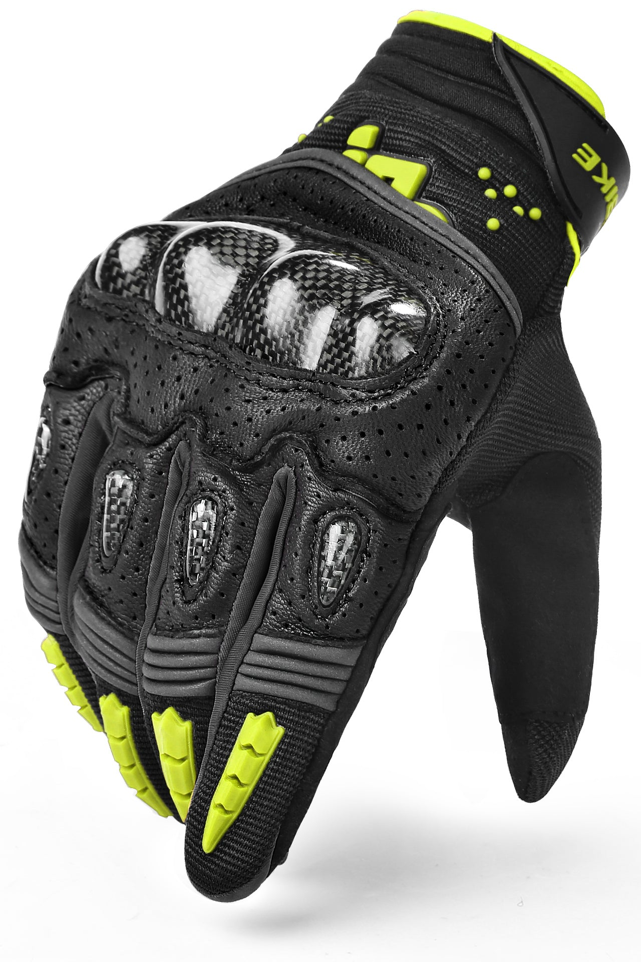 Urban & Cross Country Motorcycle Glove Green