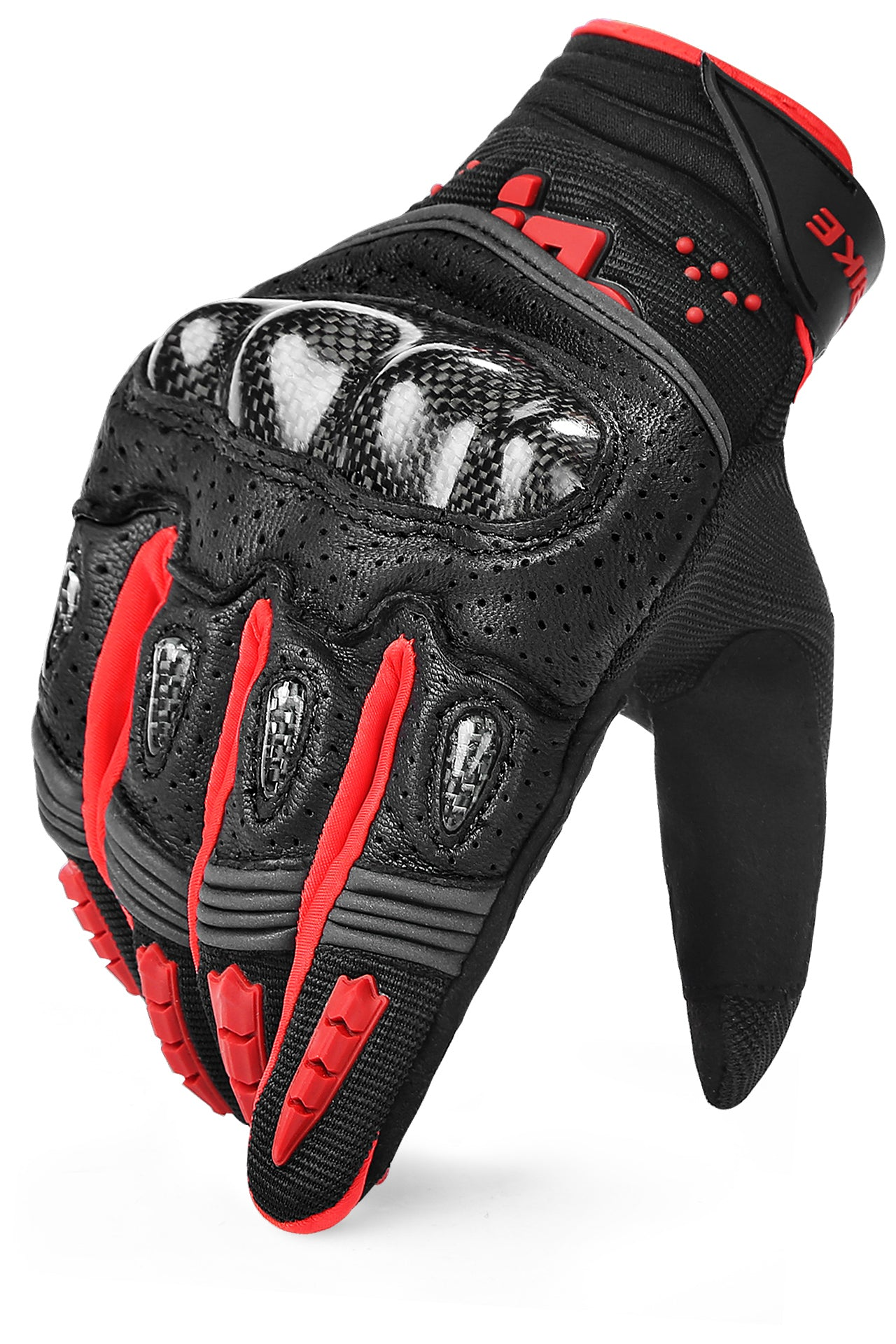 Urban & Cross Country Motorcycle Glove Red