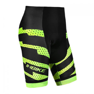INBIKE Men's Cycling Shorts with Pad Green