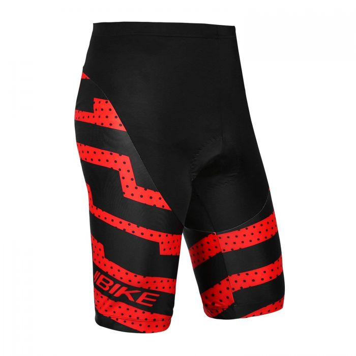 INBIKE Men's Cycling Shorts with Pad Red