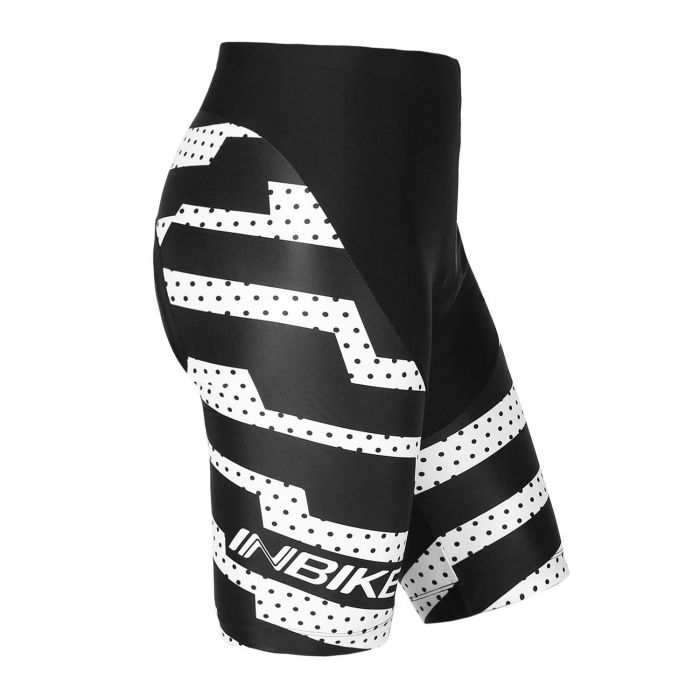 INBIKE Men's Cycling Shorts with Pad White
