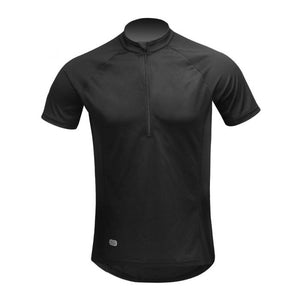 INBIKE Breathable Short Sleeve Bike Jersey Black