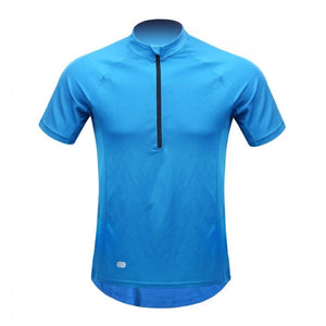 INBIKE Breathable Short Sleeve Bike Jersey Blue