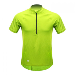 INBIKE Breathable Short Sleeve Bike Jersey Green
